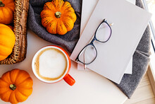 Autumn Still Life With Coffee,...