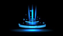 Number 1 Sparkling Blue Light ...