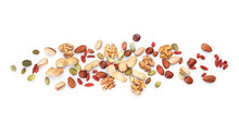 Assortment Of Tasty Mixed Nuts