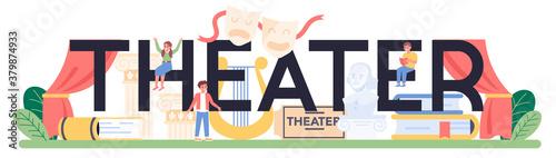 Photo Theater typographic header