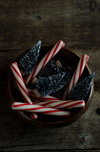 Peppermint Sticks And Trees