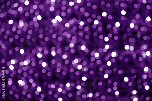 Fototapeta Bokeh of the color night light, blurred background