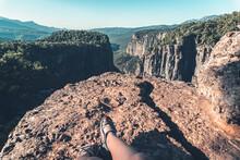 Greyhound Canyon View. Blurry ...