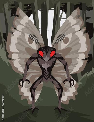 Fototapeta insect man monter creepy creature