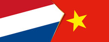 Netherlands And Vietnam Flags,...
