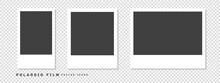 Polaroid Camera Film Instant Camera Film Vector Illustration Material