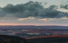 Appalachian Winter Sunset