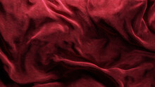 Red Corduroy Fabric