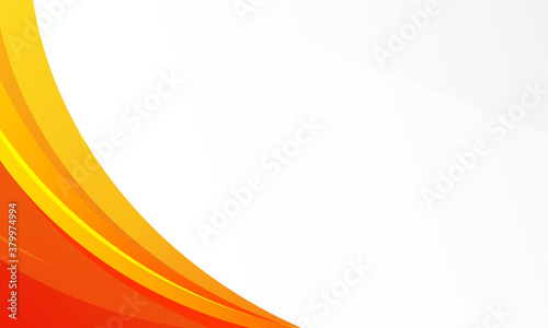 Fototapeta dynamic orange background gradient, abstract creative scratch digital background, modern landing page concept vector, with line and circle shape. obraz