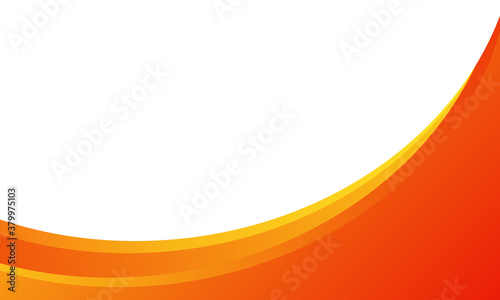 Obraz dynamic orange background gradient, abstract creative scratch digital background, modern landing page concept vector, with line and circle shape. - fototapety do salonu