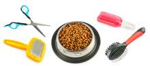 Pet Supplies. Dry Food, Combs,...