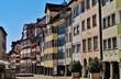 canvas print picture - Wil, Ostschweiz, historische Altstadt, Marktgasse