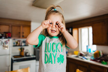 Toddler Child In Lucky Day Sai...