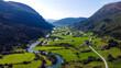 Winding river - Stryn, Norway