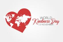 World Kindness Day Vector Illu...