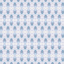Baby Blue Pattern Generated By Kaleidoscope Glasses