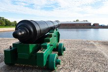 Vintage Cannon Is Directed Tow...
