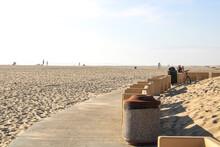 A Bike Path At The Beach At Ox...