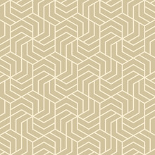 Hexagonal Art Deco Pattern Ba...