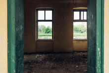 Abandoned Classroom In An Old ...
