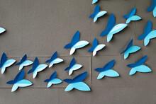 Artifact Blue Butterfly On Pop...