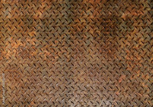 Fototapeta rusted metal obraz