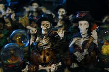 Halloween Decoration. Scary Fi...