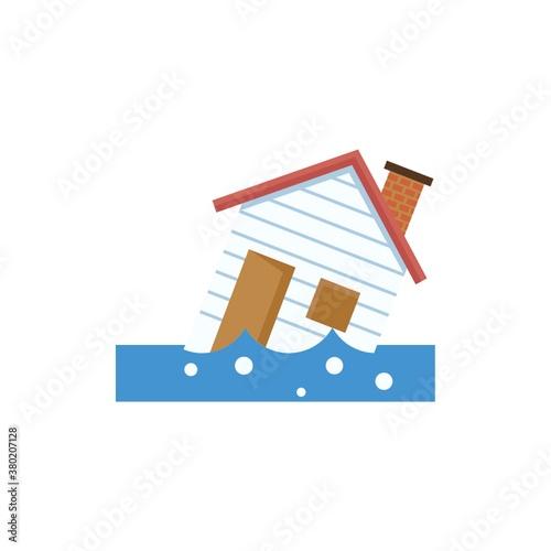 flood Fototapeta