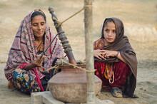 Rural Sindh ,Making Of Lassi !