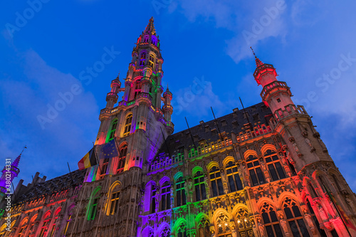 Photo Grote Markt in Brussels Belgium