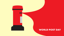 World Post Day. Vector Illustration