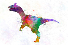 Cryolophosaurus  Dinosaur In W...