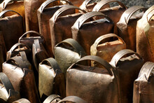 A Set Of Traditional Cowbells