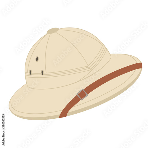 Fotografering Safari hat, French army pith helmet for tourists, hunters and explorers