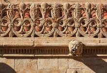 Architectural Detail Of Gargoyle At The 'Casa De La Conchas' In Salamanca