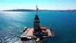 Istanbul Kiz Kulesi, Maiden Tower Aerial Footage