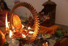 Puja Set Up In Hinduism. Selec...