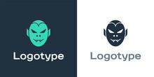 Logotype Vampire Icon Isolated...