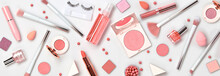 Beauty Cosmetic Makeup Backgro...