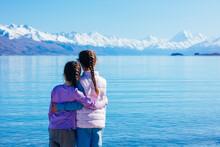 Mt Aoraki Cook And Lake Pukaki...