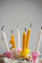 Extinguished Birthday Candles