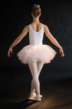 Teenage (16-17) Ballerina On Stage