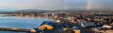 Cityscape With Rainbow