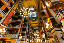 Old Library In Iowa State Capi...