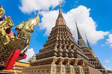 Part Of Wat Arun Temple Facade