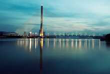Rama VIII Bridge On Chao Phray...