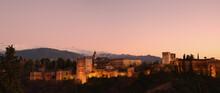 Cityscape With Illuminated Cas...