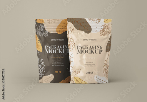 Stand Up Pouch Mockups