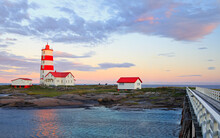 Pointe-des-Monts Lighthouse At...
