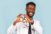 African American Male Doctor W...